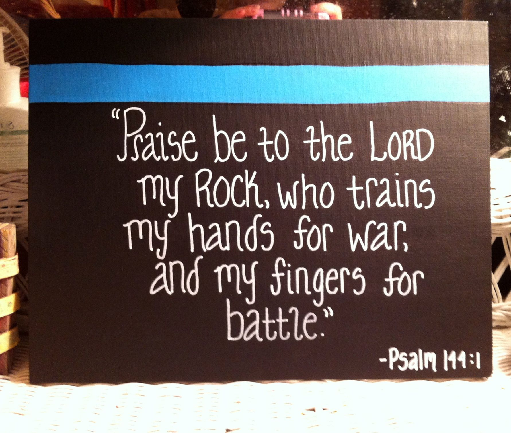 the lord guides my fingers