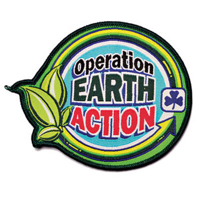 operation earth action challenge girl guides