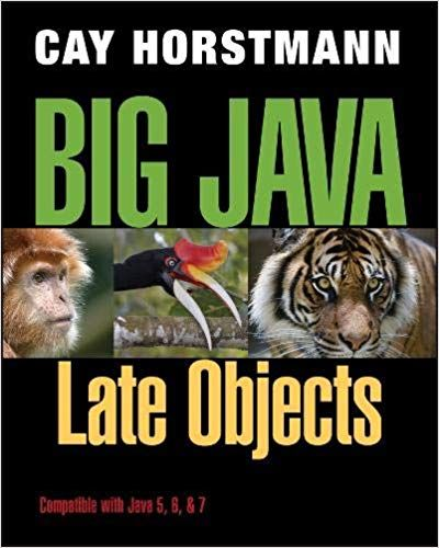 a guide to programming in java textbook answers