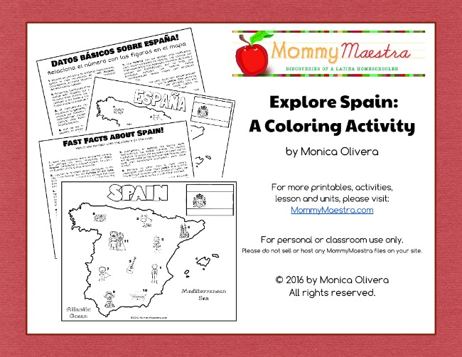 kids world travel guide spain facts