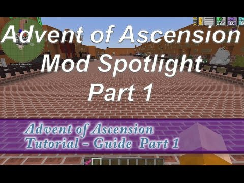 minecraft advent of ascension guide