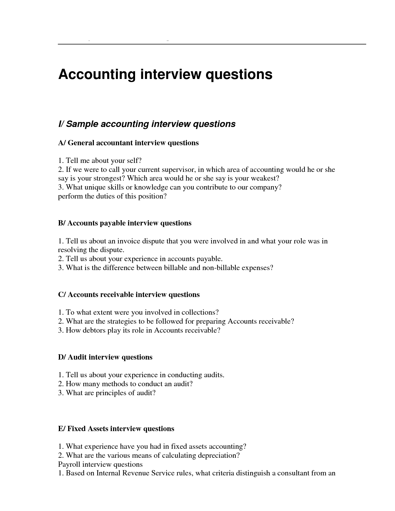ut career services interviewing guide