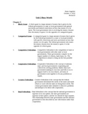 ap government unit 2 study guide answers