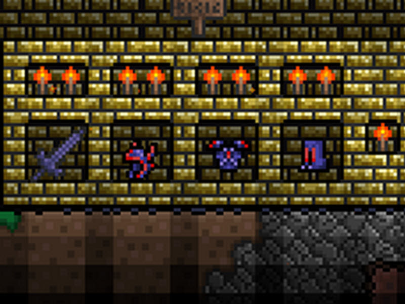 bloody doll of guide terraria
