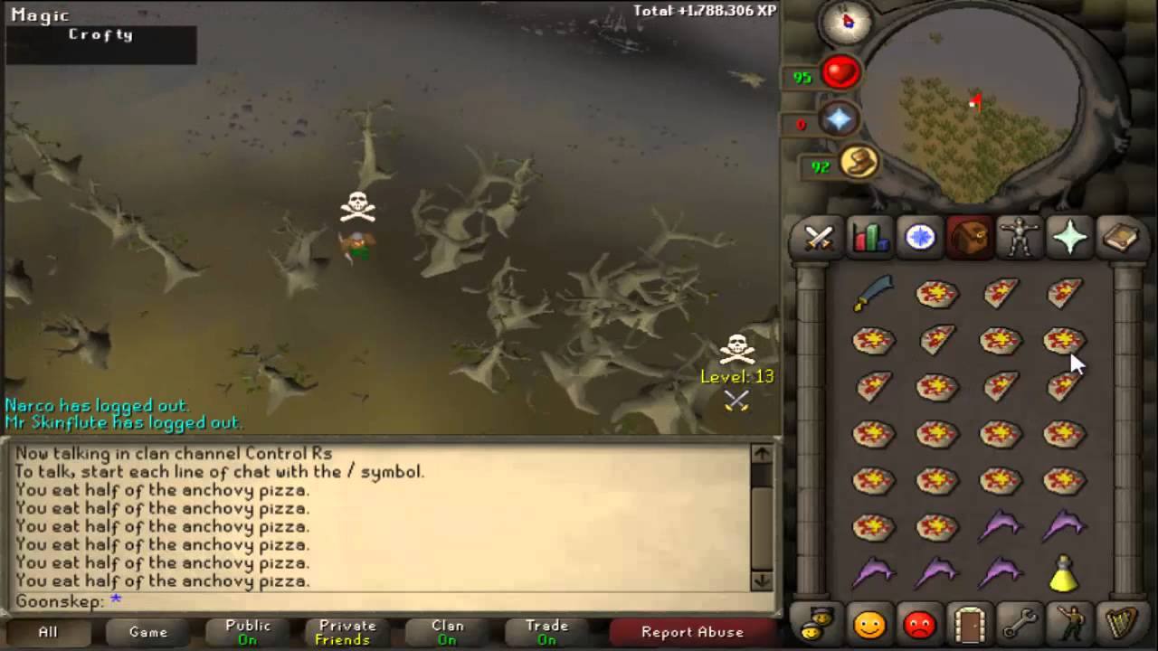 guide to combo osrs f2p