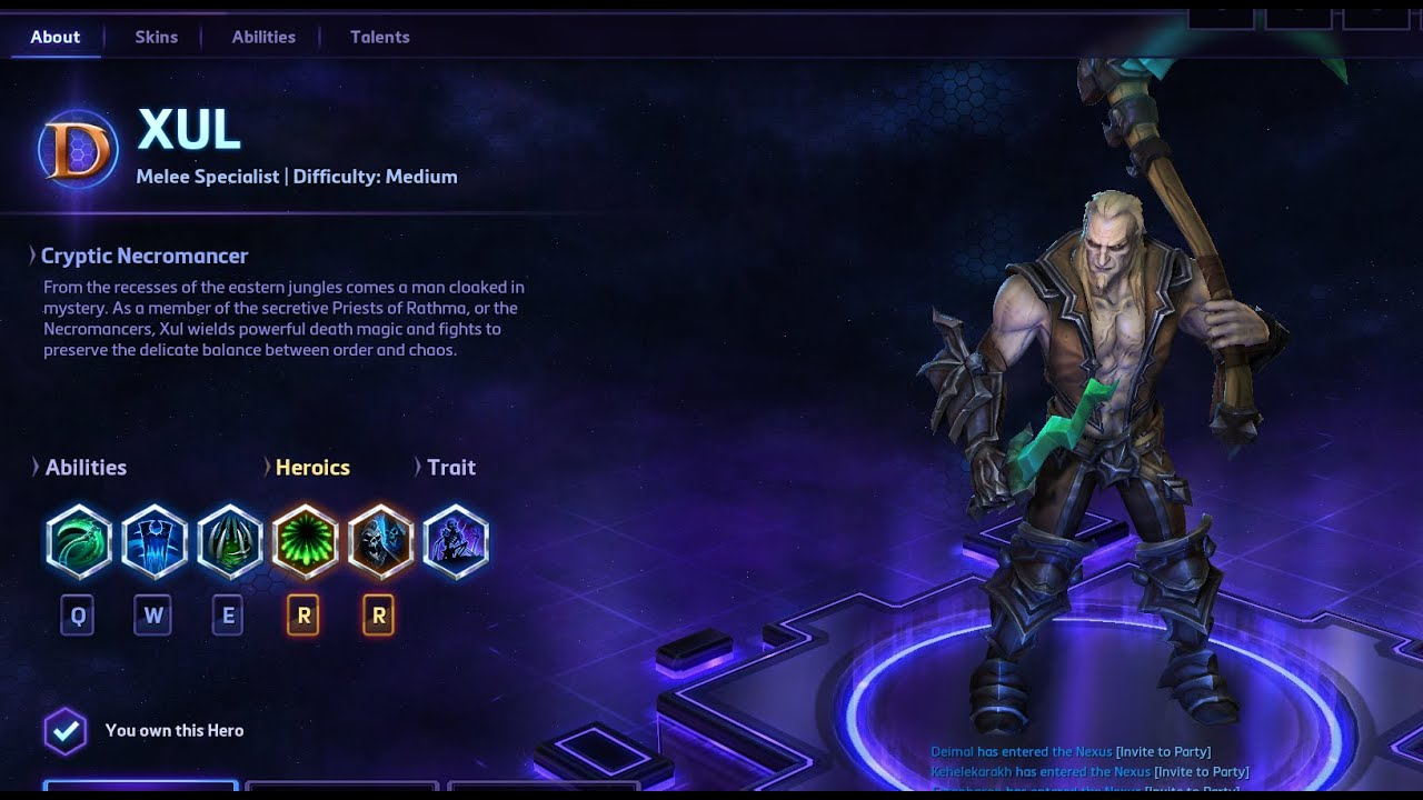 heart of the storm xul guide