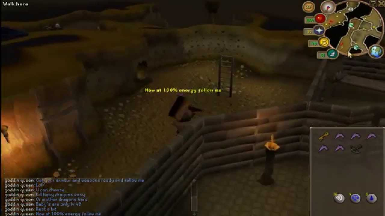 runescape 3 green dragon guide