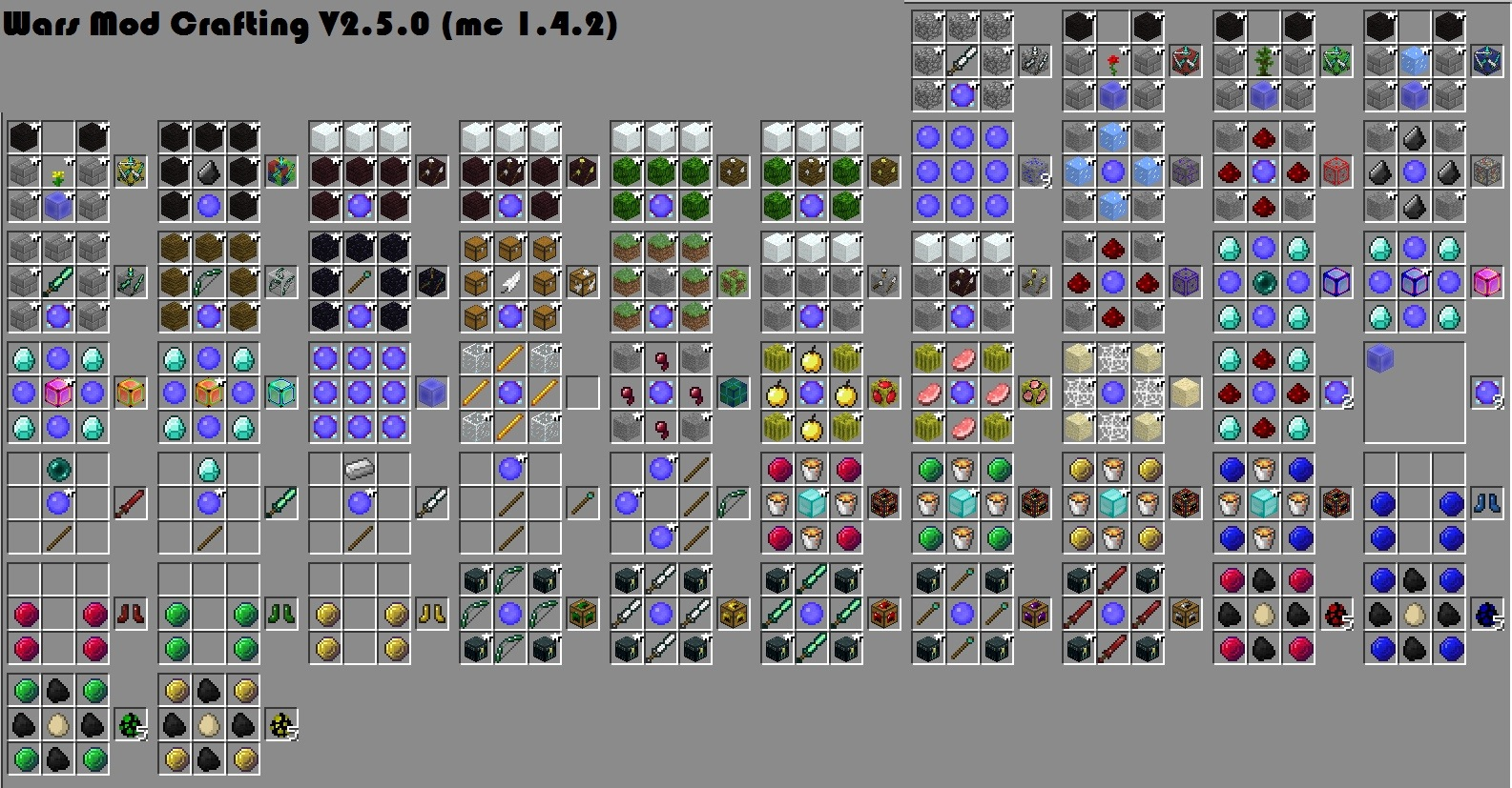 sextant block spider forest guide